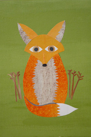 Fox-collage