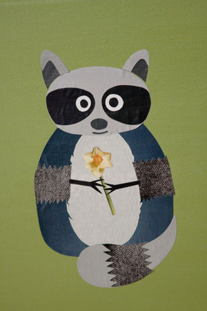 Raccoon-collage