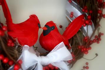 Cardinalwreath